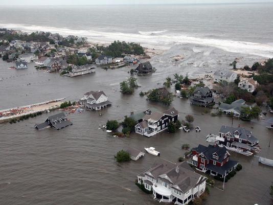 shore flooding